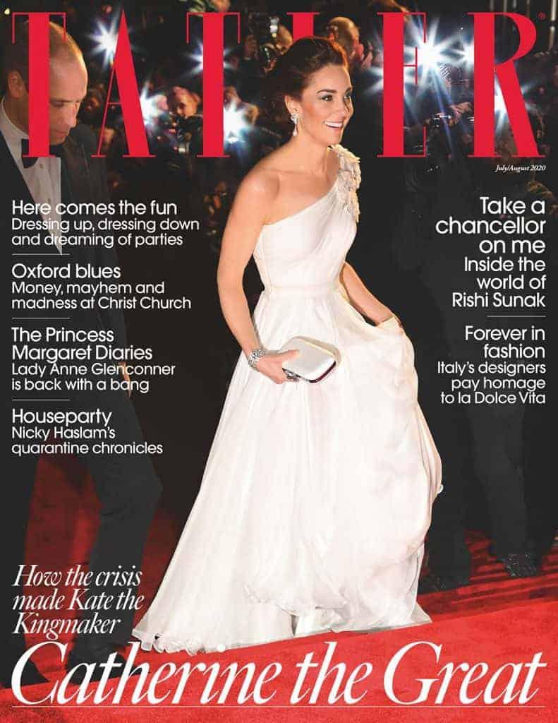 Tatler Cover July   August 2020