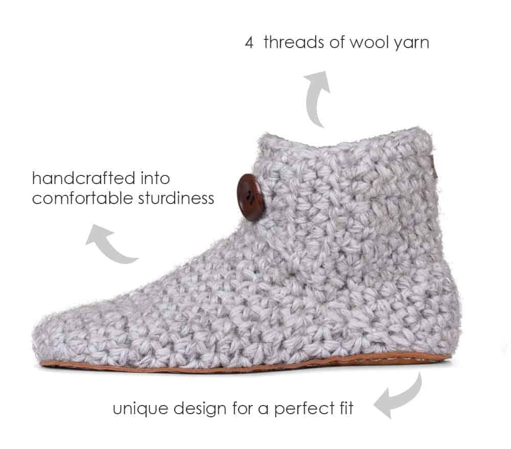KOW Handmade Wool Slippers