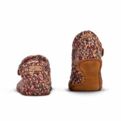 Indian Summer Wool Slippers | Low Top