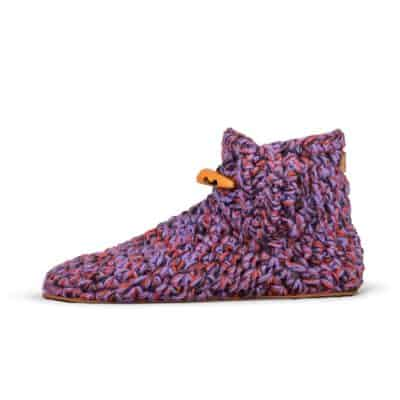 So 70s Wool Slippers | High Top