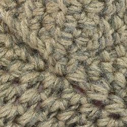 Winter Moss Green Slippers